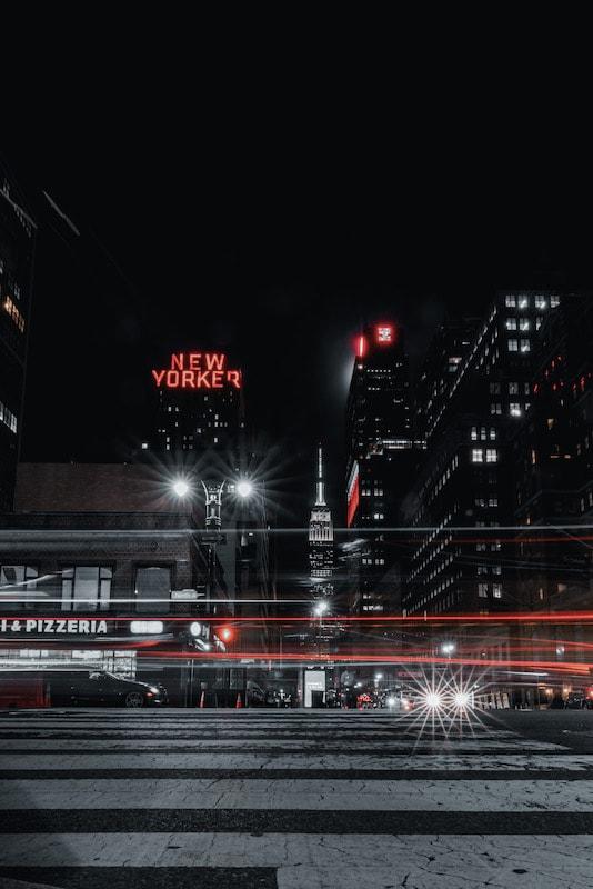 Fotografare New York in Black Color